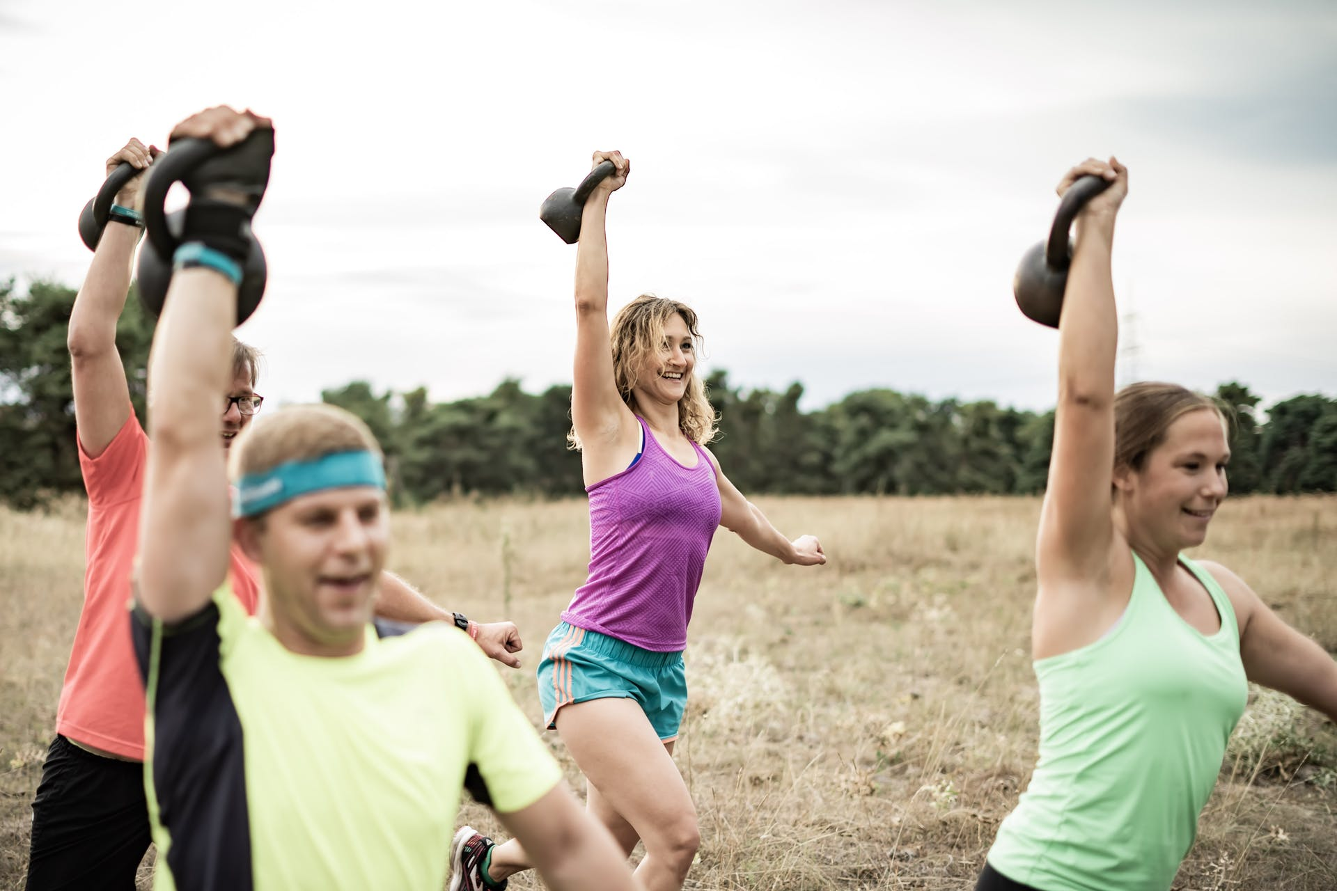outdoor bootcamp training in halle