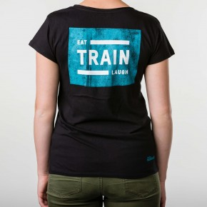 Eat, Train, Laugh Shirt (Frauen)